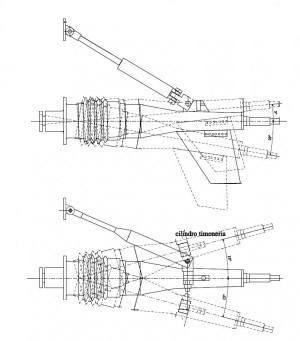Trasmissione nautica Top System TS 75S
