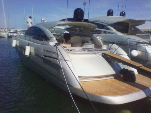 Pershing 50.1 e Top System